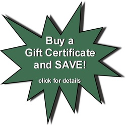 Click for Gift Certificate Special details