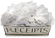 Look at past grocery store receipts for inprtant information about items that you purchase when using the WeGoShop.com grocery shopping and delivery service.
